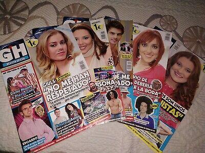 Lote revistas Gran Hermano GH Revista oficial Pack de 5 revistas, usado segunda mano  Granada