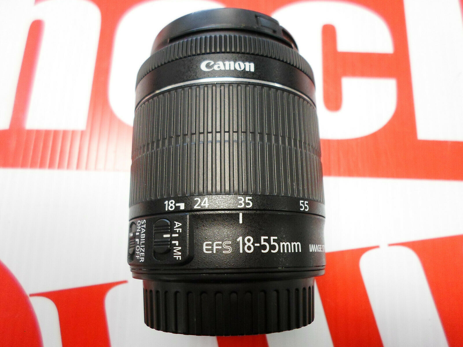 Canon EF-S 8114B002 18-55mm F/3.5-5.6 STM IS Lens - $37.00
