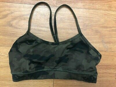Lululemon Original Camo print green size 6 New Without Tags