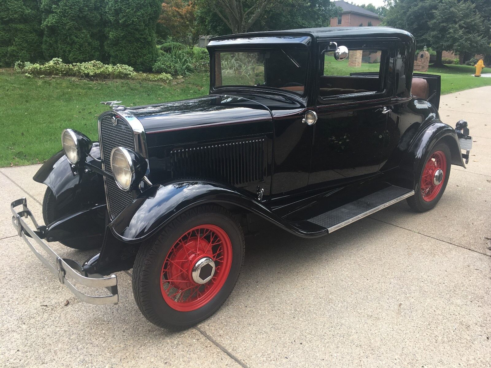 1931 Essex Rumble Seat Coupe  1931 Hudson Essex Super Six Rumble Seat Coupe