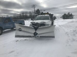 2012 dodge 5500 6.7 4x4 plow and sander package