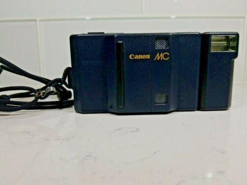 CANON MC 35mm f/2.8 Auto Focus Point & Shoot Camera w/ CANON FLASH MC-S