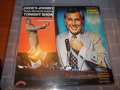 Johnny Carson - The Tonight Show, 2 × Vinyl, LP with poster