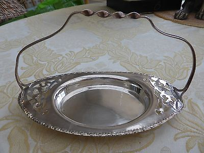 VINTAGE SILVER PLATED BUTTER OR CONSERVE DISH    #240217001/003