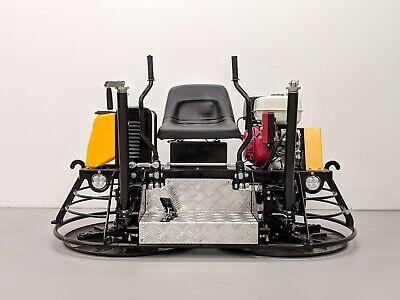 Hoc Hw390 Honda Gx390 30 Inch Ride On Power Trowel Wheel Kit 3 Year Warranty