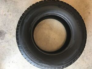 Two 265/70/17 tires