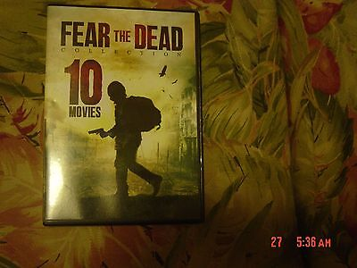 Fear the Dead Collection - 10 Movies (DVD, 2016) Over 13 Hours, 2 disc set - Halloween 10 Hours