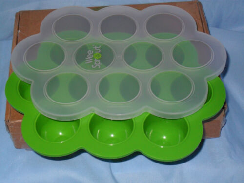 Wee Sprout Baby Food Freezer TRAY Silicone 10 cubes Homemade foods WeeSprout NEW