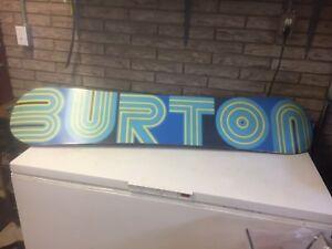 Burton 162 men's custom snowboard