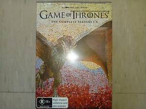 Unopened GAME OF THRONES DVD BOX SET SEASONS 1-6 UNOPENED Madeley Wanneroo Area Preview