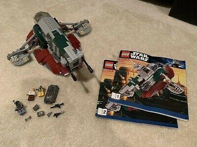 LEGO Star Wars #8097 Slave 1 Boba Fett Bossk Han Solo in Carbonite 3rd Edition