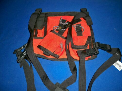 Search Gear Radio Chest Harness Pack Tactical Cordura rescue