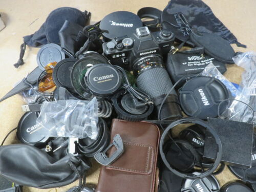 Lot of MISC camera parts items --- 15+ pounds