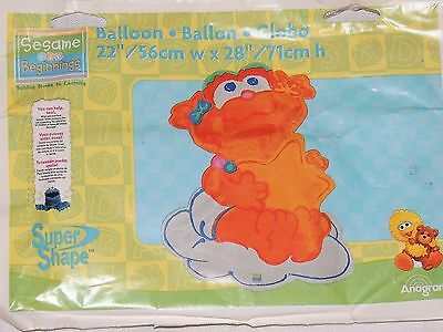 NEW ~SESAME STREET BEGINNINGS~1-FOIL/MAYLAR BALLOON 22