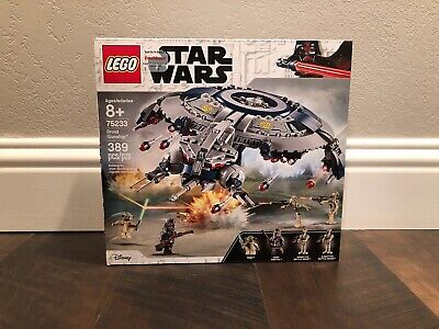 Lego Star Wars, Droid Gunship, # 75233, 389 Pieces, 8+, New, Factory Sealed
