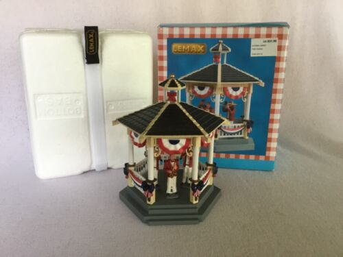 LEMAX SUMMER AMERICANA 2018 CARNIVAL PARK GAZEBO BAND #83365 TABLE ACCENT