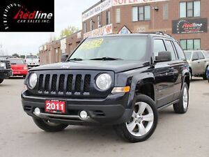 2011 Jeep Patriot Limited 4X4 Navi-Leather-Alloys