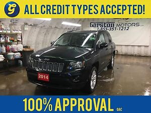 2014 Jeep Compass SPORT/NORTH 4WD*HEATED MIRRORS*STEERING WHEEL