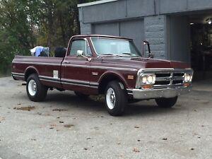 1969 GMC 2500. Mint southern truck no trades27,000.00