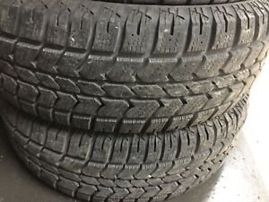 235/70/17 WINTER AVALANCHE XTERM $40 EACH TIRE