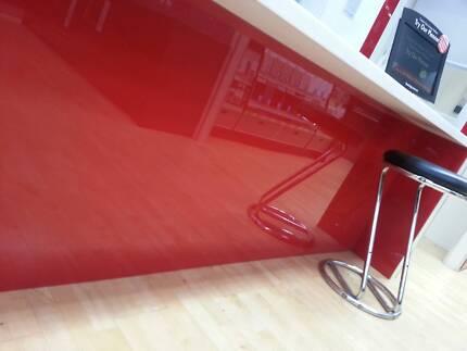 IPA Acrylic Splashbacks any Solid Colour 3000 x 760 x 6mm