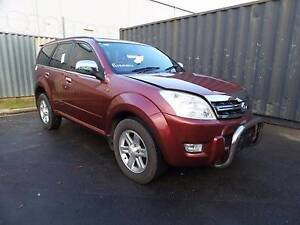 2010 GREAT WALL X240 2.4 PETROL MANUAL 4WD FOR WRECKING Royal Park Charles Sturt Area Preview