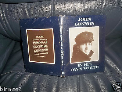 THE BEATLES IN HIS OWN WRITE! JOHN LENNON 'S FIRST BOOK GENUINE APRIL 1964 FAB