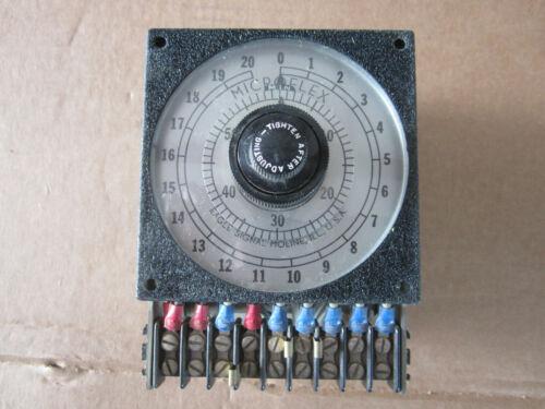 EAGLE SIGNAL MICROFLEX  TIMER HA43A6 Model 2F63 Unused, NOS