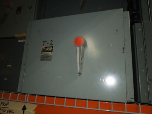Fpe Qmqb4036 400a 3p 600v Single Fusible Switch Unit Used