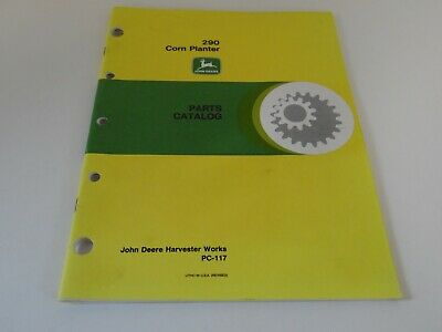 John Deere 290 Corn Planter Parts Catalog