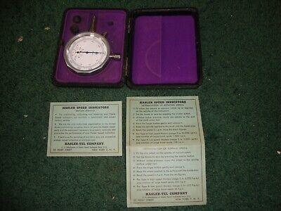 Hasler Speed Indicator -- Chronometric Type