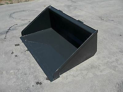 34 Low Pro Smooth Bucket Attachments Fits Mini Universal Skid Steer Toro Dingo