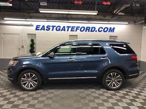 2018 Ford Explorer Platinum Loaded AWD