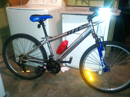Cheap 24inch youth/adult quality chrome molly mountain bike vgc!!