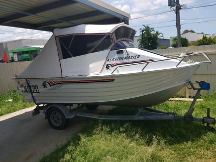 Ally Craft Half Cabin Boat