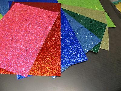 Glitter Flake Sign Vinyl 3 Sheets 8 X 12 Inch Choose Your Colors
