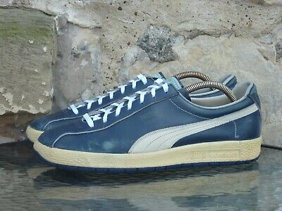 Vintage 1970s PUMA Oslo-City UK8.5 OG Made In West Germany Deadstock City Series