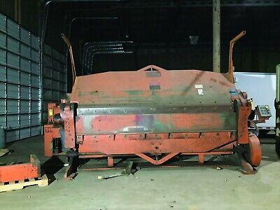 Chicago Dk 14 Capacity 206 10 Wide Powered Leaf Brake Wpneumatic Lift