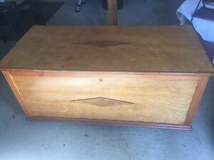 Vintage Hope Chest Trunk - Cedar Lined