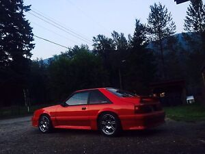 Supercharged 1991 fox body Mustang