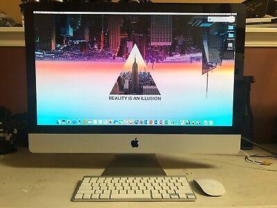 "Apple Imac 27""( MID 2011) 3.4 GHz Intel Core i7, 20G RAM, 2T HD, 2G RAM VIDEO"