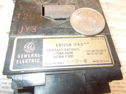 GE/General Electric CR120B040 Contactor