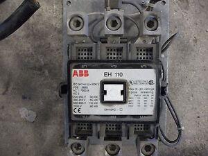ABB Contactor EH110 3 Poles 200 Amps
