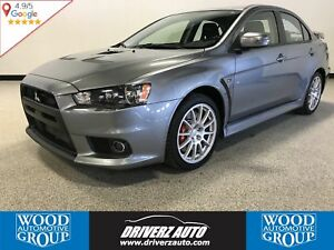 2015 Mitsubishi Lancer Evolution GSR AWD, TURBO, RECARO SEATS