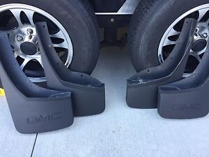 GM Accessories 4 Moulded Mud Flaps GMC