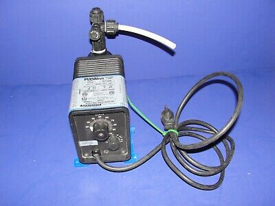 Pulsatron Electronic Metering Pump Water Treatment Additives A Plus Series Pulsa