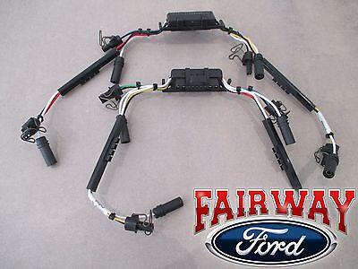 99 thru 04 F250 F350 OEM Ford 7.3L Diesel Fuel Injector Wiring Harness PAIR of 2