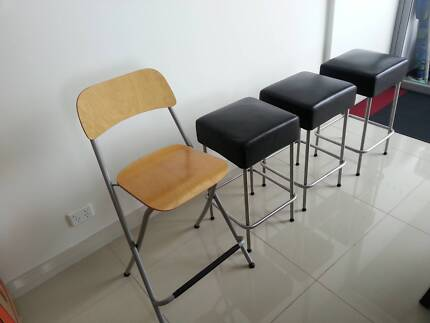 4 Bar seats in great condition Botany Botany Bay Area Preview