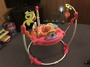Fisher Price Petals Jump-a-roo bouncer