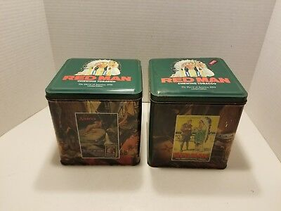 3591c65e Used, RED MAN Chewing Tobacco Tin 1990 limited edition for sale Nashville